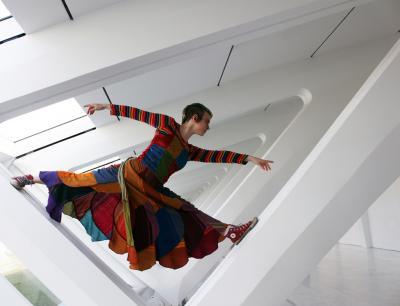 Alison Daniel in the Rafters