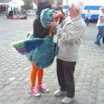 Elderly gentleman with Birdo- Charleville-Mezieres